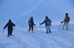Snow-shoe hiking_48